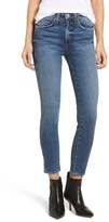 Women's Mcguire Windsor Destroyed High Waist Straight Leg Jeans