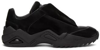 Maison Margiela Black Vinyl New Future Sneakers