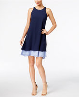 INC International Concepts Layered Trapeze Dress, Only at Macy's