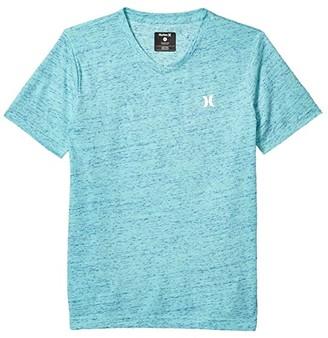 Hurley Cloud Slub Staple V-Neck Tee (Big Kids) (Tropical Twist) Boy's T Shirt