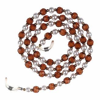 Xidan FL1 Pearls Beads Design Eyeglass Chains Sunglass Holder Strap Cord Lanyard with a Bonus