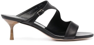 AGL Buckle Strap Detail Mules