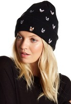 David & Young Cat & Dog Embroidered Beanie