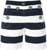 Dolce & Gabbana striped shorts - women - Cotton/Spandex/Elastane - 42