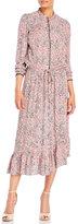Zadig & Voltaire Romeo Print Fleurs Maxi Dress