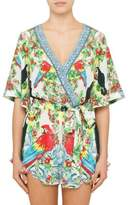 Camilla One Flew Over Cross Over Frill Hem Playsuit