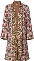 Alberto Biani floral print coat