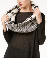 Eileen Fisher Organic Cotton Plaid Infinity Scarf