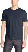 John Varvatos Men's Short Sleeve Peace Crew Neck T-Shirt