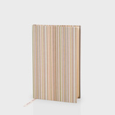 Paul Smith Signature Stripe Hardback Linen Pocket Notebook