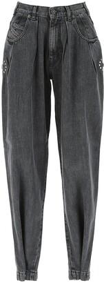 Diesel D-Concias High-Waisted Jeans