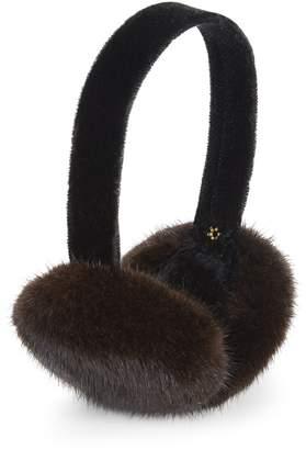 Surell Mink Fur Earmuffs