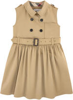 Burberry Gabardine trench dress