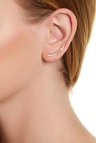 Gorjana Ryder CZ Ear Climber Earrings