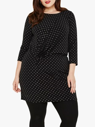 Studio 8 Clara Stud Tunic, Black