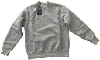 LES TIEN Grey Cotton Knitwear for Women