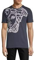 Versace Medusa Head-Print Cotton Tee