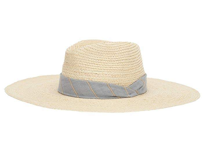 Rag & Bone Sewn Straw Panama Hat