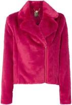 Biba Faux fur biker jacket
