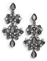 Givenchy Women's Crystal Chandelier Drop Earrings