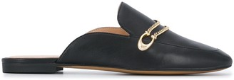 Coach Slip-On Leather Loafers