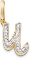 Monica Vinader Diamond Alphabet Pendant U