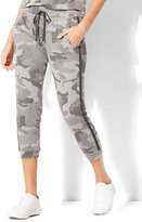 New York & Co. Soho Street Cropped Camo Jogger