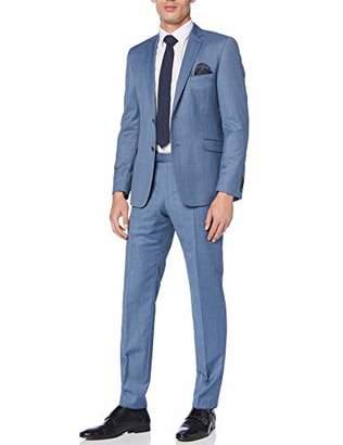 Strellson Premium Men's Allen-Mercer Suit, (Grey 045), (Size: 50)