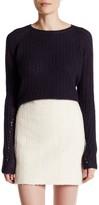 Inhabit Ribbed Cashmere Crew Neck Sweater