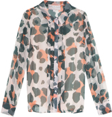 Paul & Joe Sister X Ella Rose Richards Printed Blouse