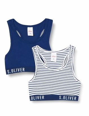 S'Oliver Girls' Bustier im Doppelpack