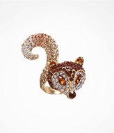 Express Pave Fox Ring