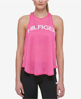 Tommy Hilfiger Perforated Graphic Tank Top, a Macy's Exclusive Style
