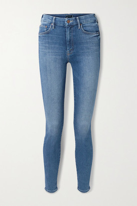 Mother Looker High-rise Skinny Jeans - Mid denim