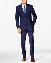 Perry Ellis Portfolio Slim-Fit Blue Twill Suit