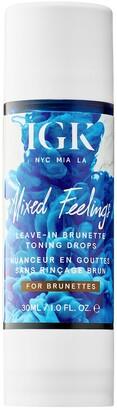 IGK Mixed Feelings Leave-In Brunette Toning Drops