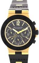 Bulgari AC38G Diagano 18K Yellow Gold Automatic Mens Watch