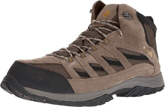 Columbia Men's Crestwood Mid Waterproof Wide Hiking Boot Breathable High-Traction Grip