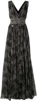 Philipp Plein Viel evening dress - women - Silk/Polyester - S
