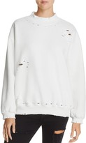 Honey Punch Distressed Sweatshirt