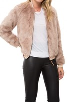 Mother The Letterman Fur Jacket
