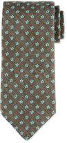 Eton Neat Foulard Silk Tie