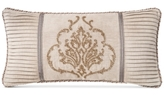 "Waterford Darcy Pleated 11"" x 22"" Decorative Pillow"