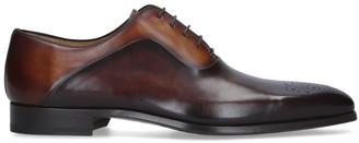 Magnanni Multi-Tone Punched Derby Shoes