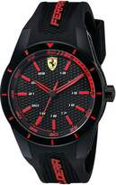 Ferrari Men's 0830245 REDREV Analog Display Japanese Quartz Watch