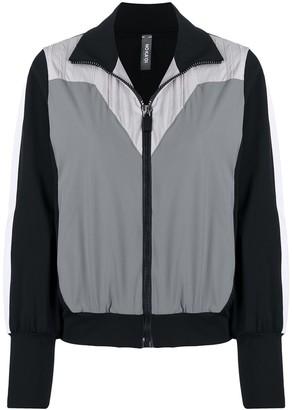 NO KA 'OI Colour-Block Zip-Up Sports Jacket