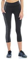 Lucy Pocket Run Stretch Knit Capris
