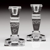 "William Yeoward Crystal ""Catherine"" 5"" Candlestick, Pair"
