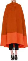 Bottega Veneta Reversible Colorblock Cashmere Cape