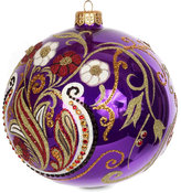 Jay Strongwater Relief Artisan Tree Decoration - Bouquet